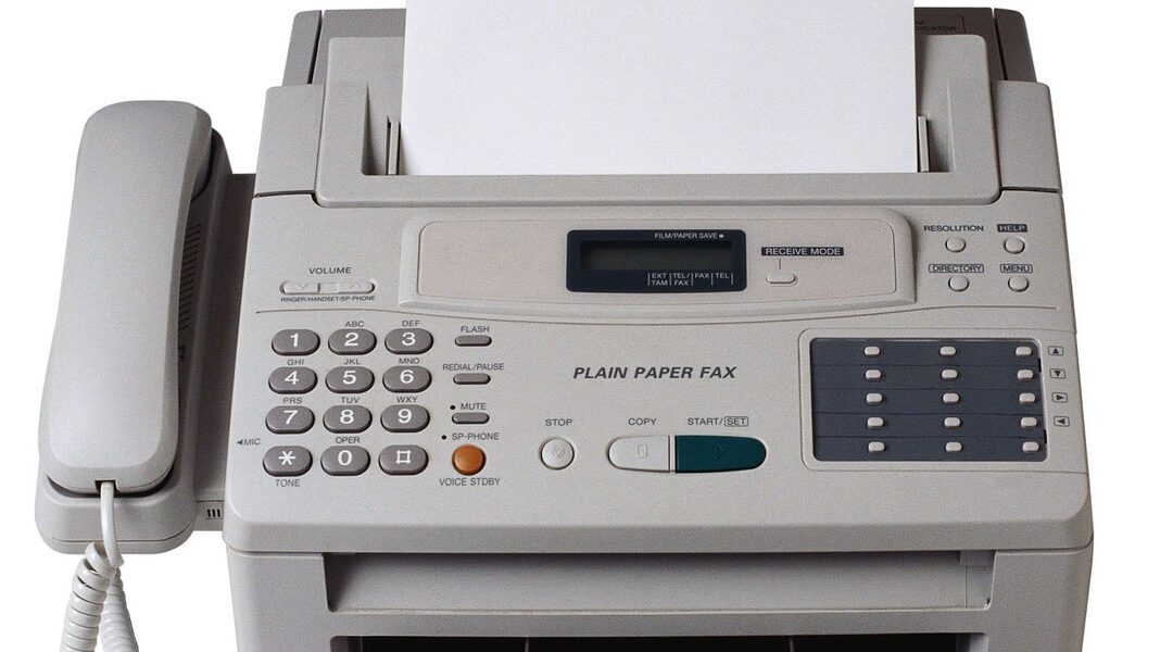 The Old Fax Machine – Do You Still Use It?